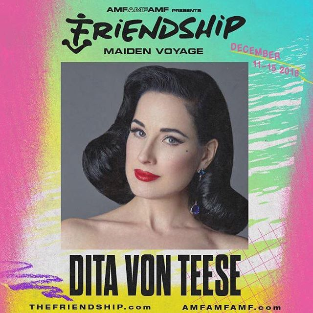 On my way to Miami, come scoop 👍🏾 @ditavonteese @thefriendshipofficial