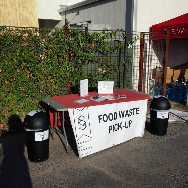 All set up at the New Belgium Bike-in movie event, the festivities are about to start, where are you? #tucson #arizona #scrapsonscraps #thisistucson