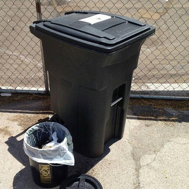 Repost from @theloftcinema of our bins they use for food waste disposal  at their  offices. We appreciate  their  support! #scrapsonscraps #compostaz #tucson #theloftcinema #foodwaste