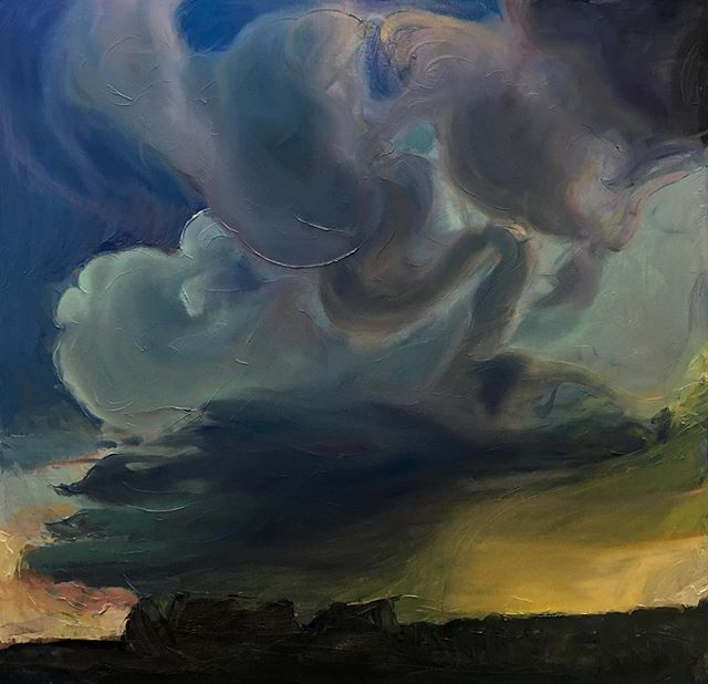 Some clouds for your enjoyment 😘  Oil on canvas (4' x 4') #cloudporn #artistsoninstagram #artstagram #art #artgallery #artnews #artwork #color #creative #fineart #representationalart #onlineartgallery #oilpainting #paint #painting #portraiture #realism #contemporaryart #emergingart #emergingartist #artlovers