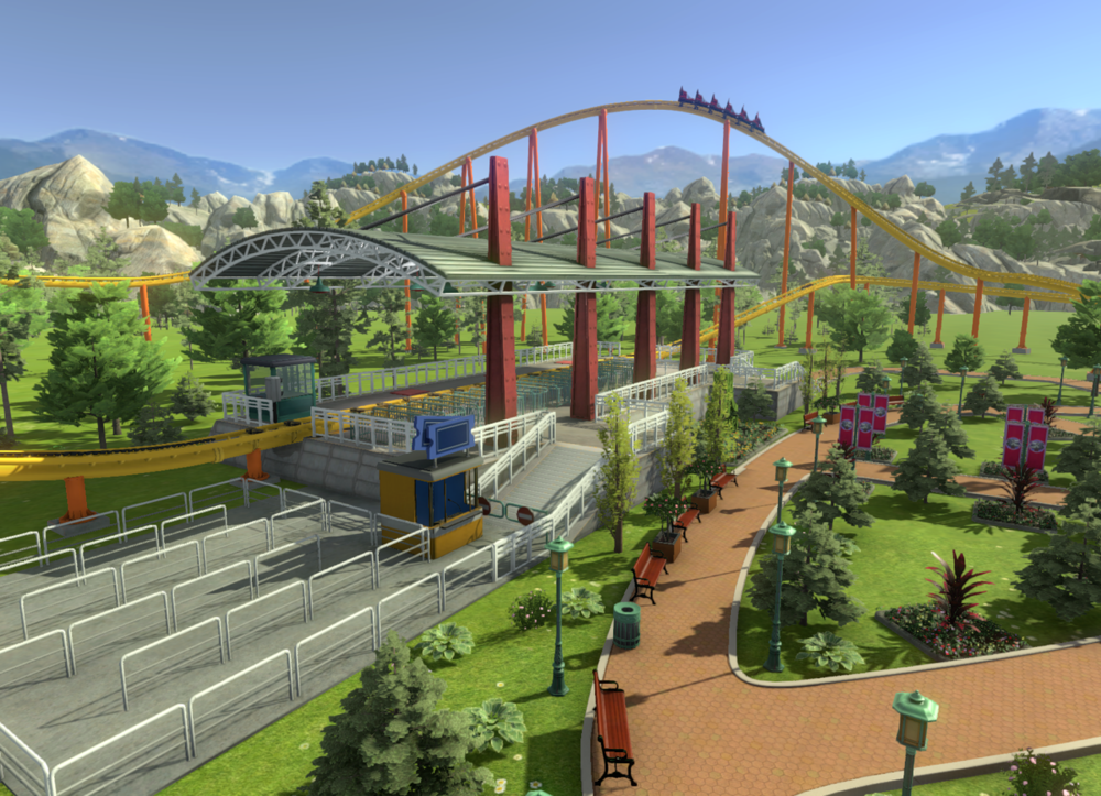 2016   RollerCoaster Tycoon World   PC