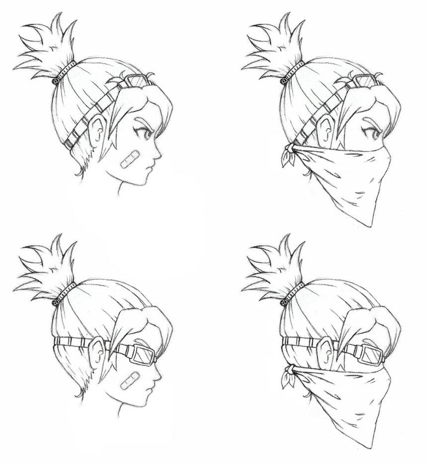 Panda Carly Head Concept