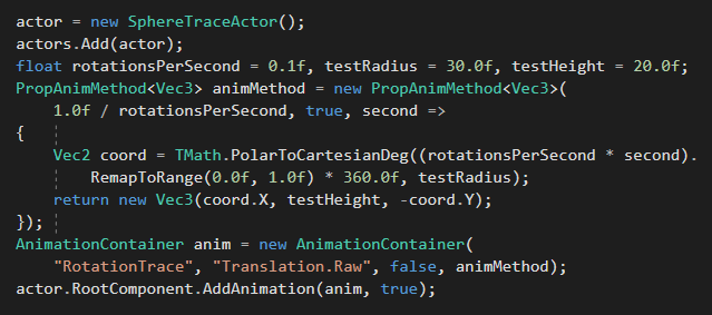 Function Animation Code