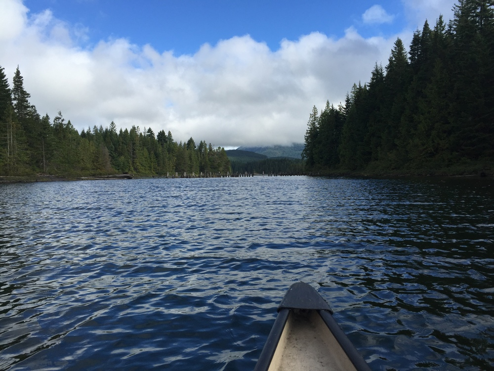 smallswell-canoe-sayward-lakes