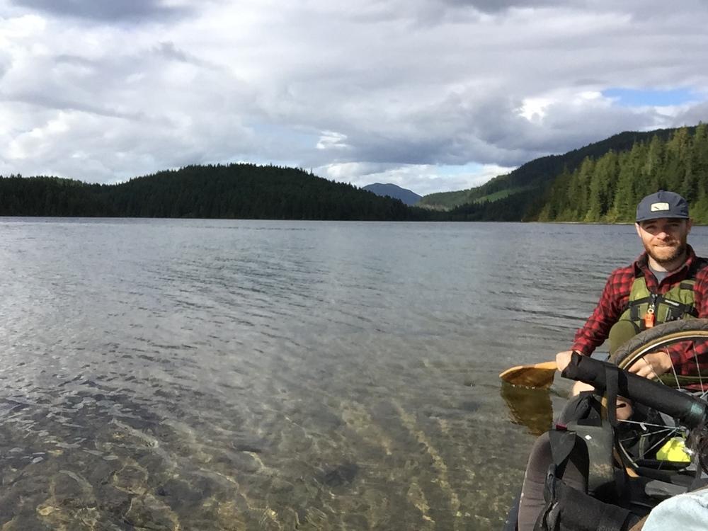 smallswell-canoe-sayward-lakes-paddling