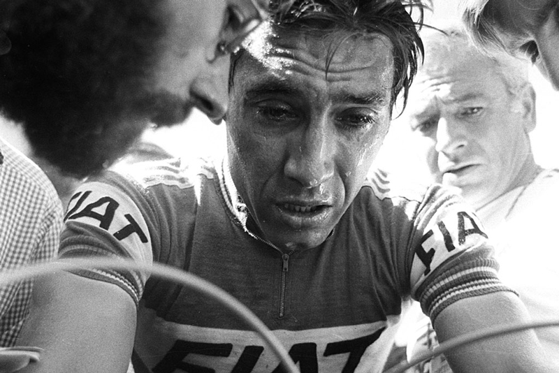 Eddy Merckx, who won each of the Monuments at least twice