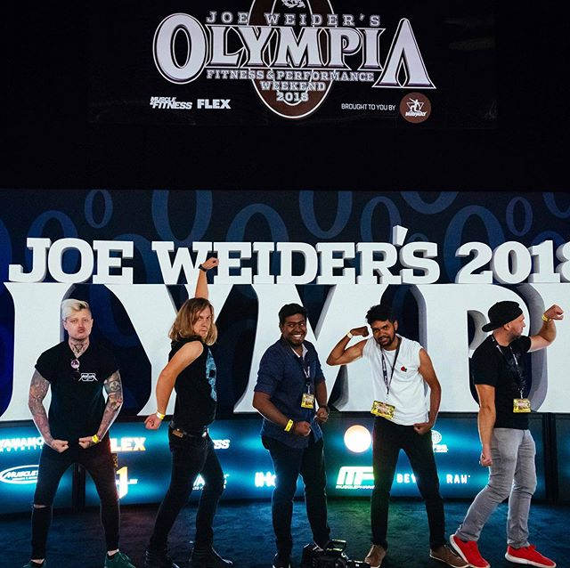 Going back to Las Vegas this year!! Last at Mr Olympia was awesome! #dp #dop #camera #cinematographer #lasvegas