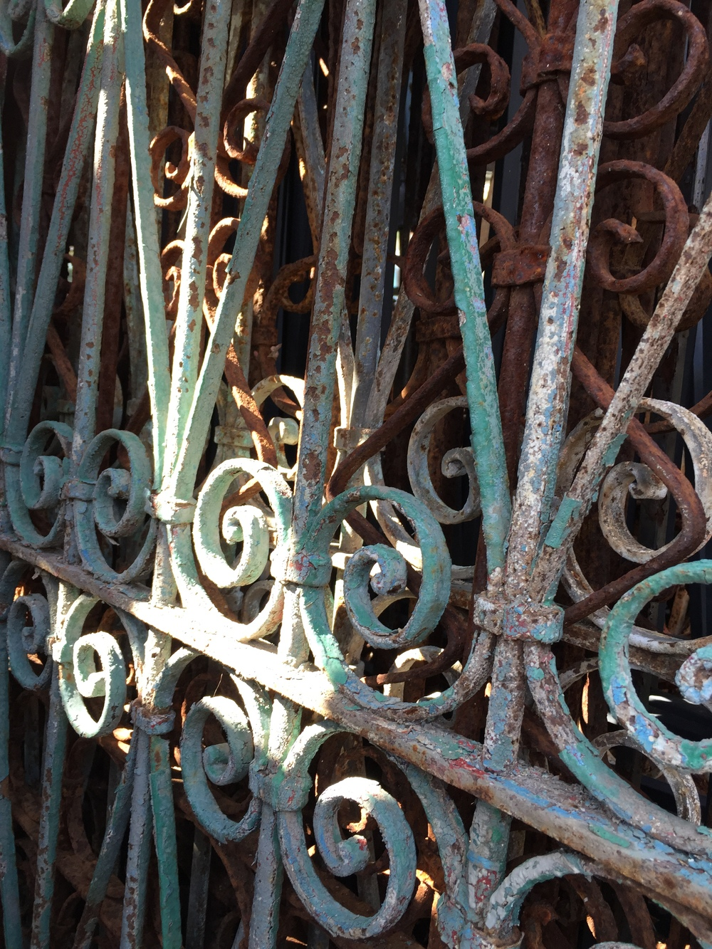 Wrought Iron Gate Blue.JPG