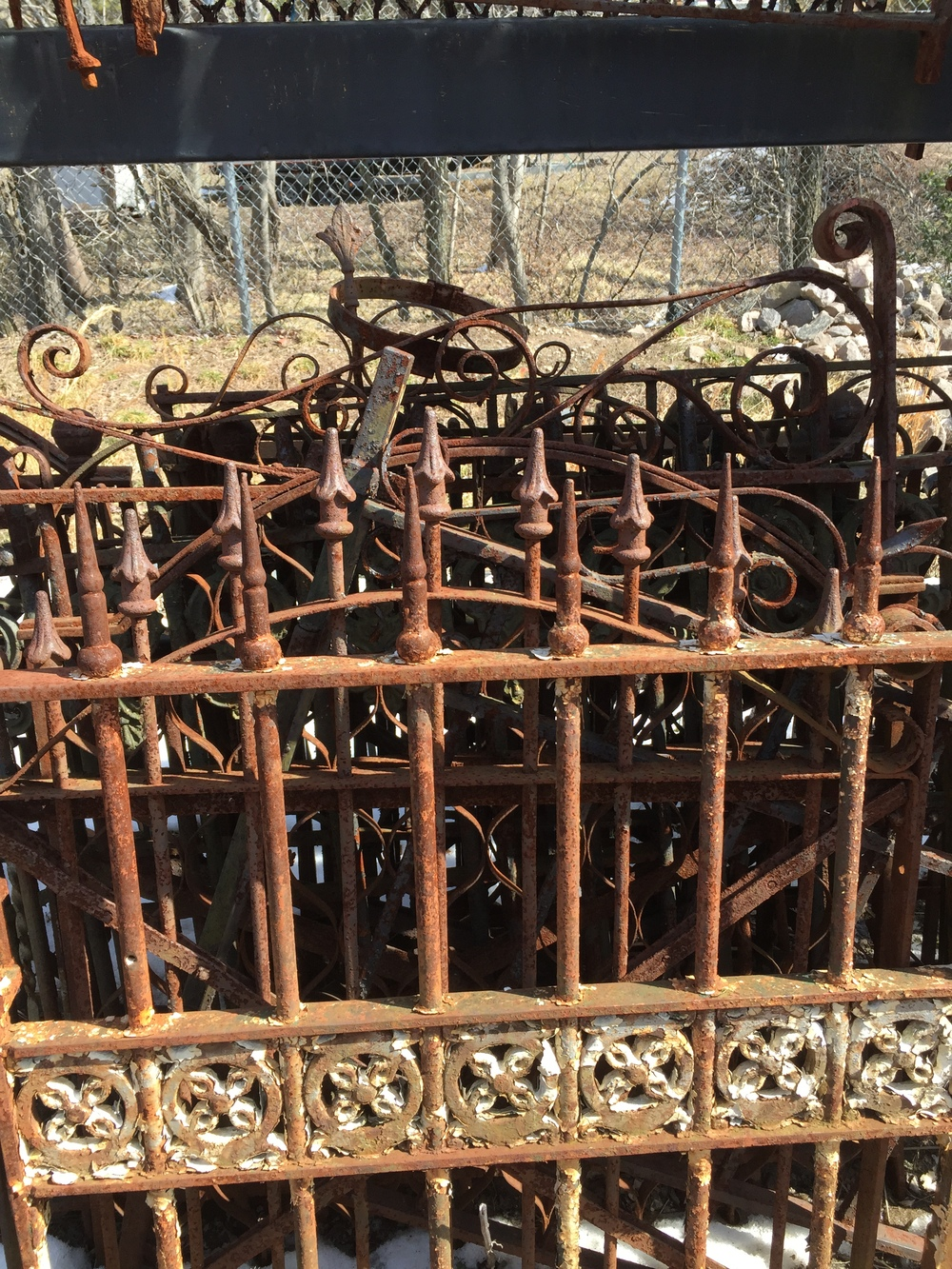 Wrought Iron Fencing And Gates Antiques Amp Architectural