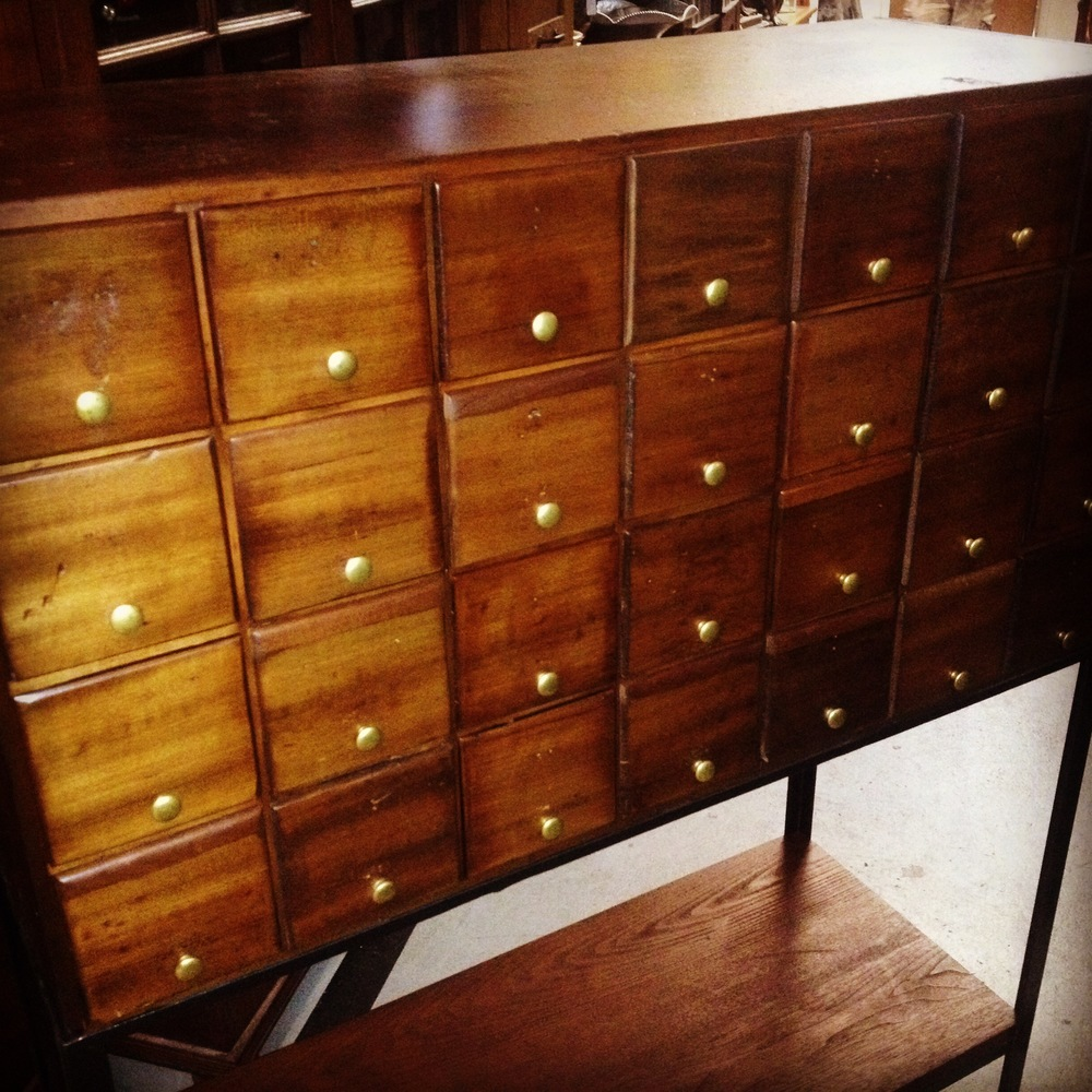 Governor's Antiques Originals Standing Drawer Cabinet.JPG