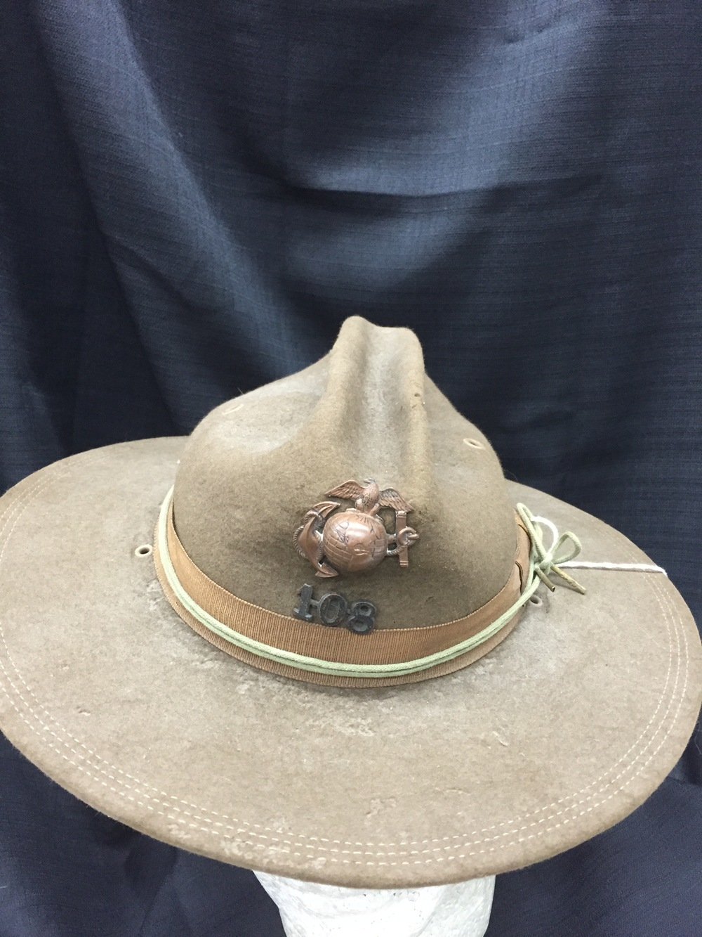 Spanish American War Hat 1902.JPG