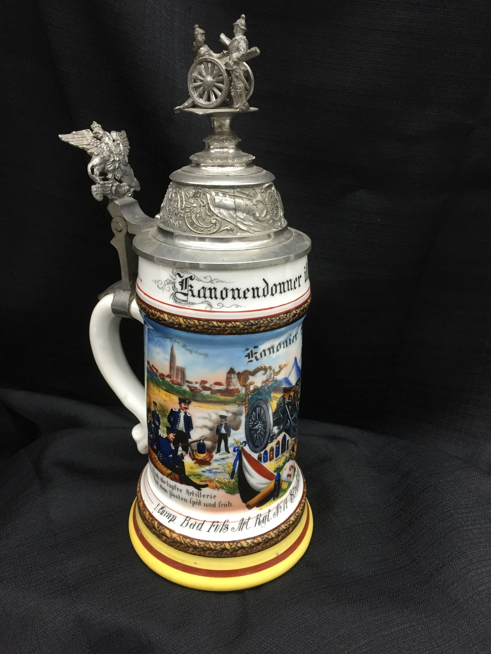 WWI German Infantry Beer Stein.JPG