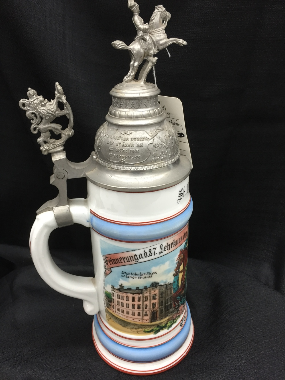 WWI German Infantry Beer Stein 2.JPG
