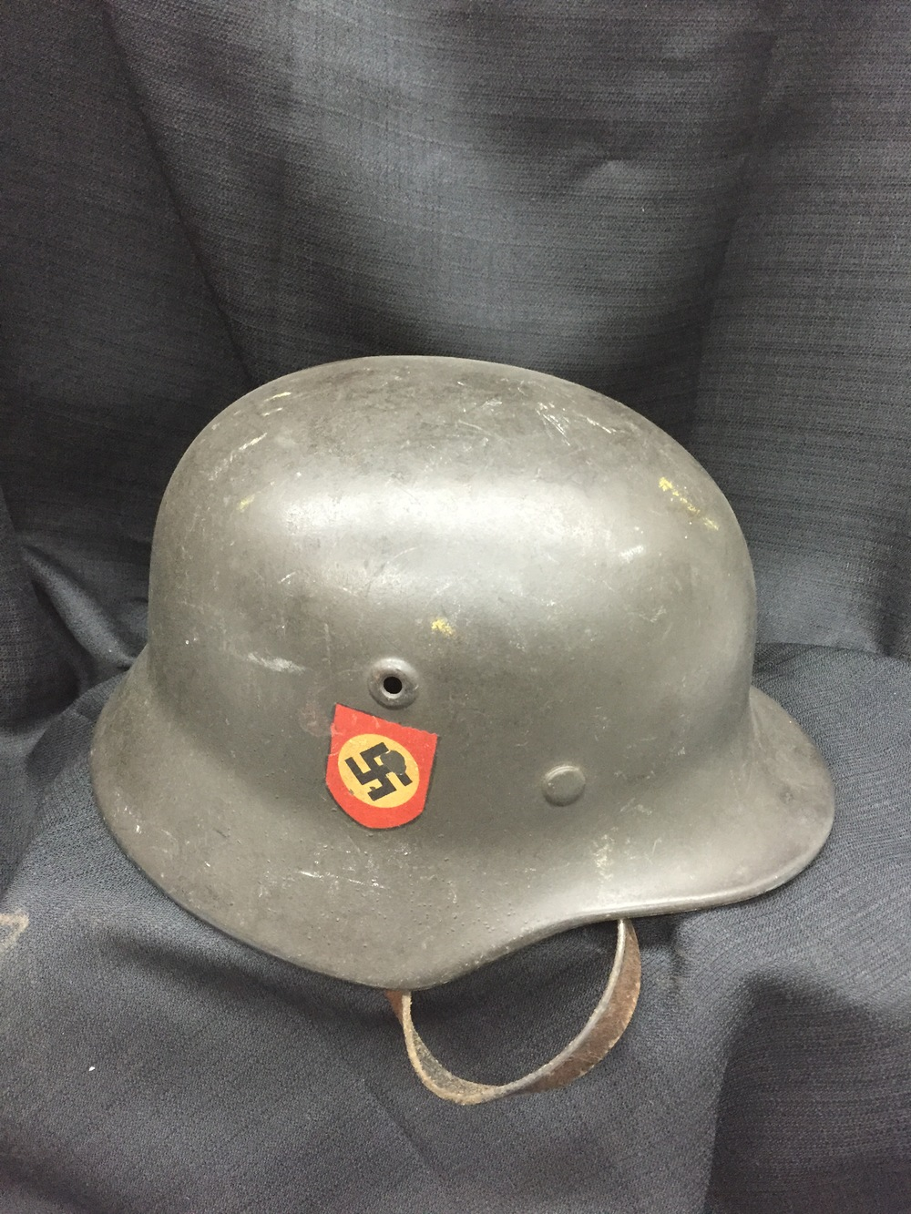 WWII German Helmet.JPG