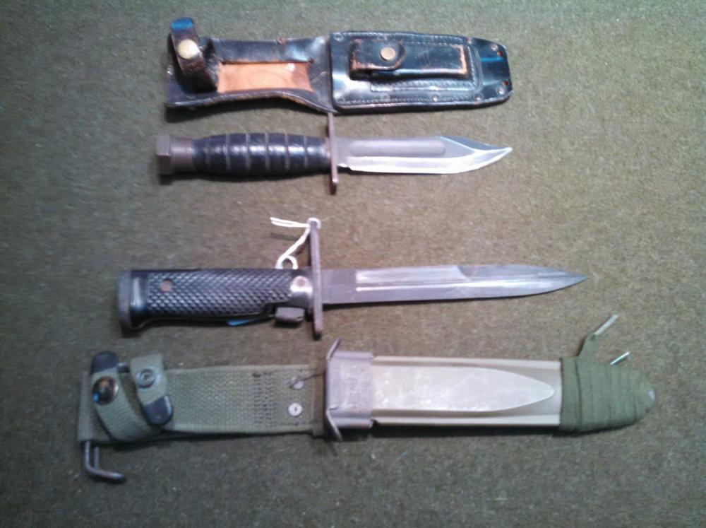 Vietnam Era Knives.JPG