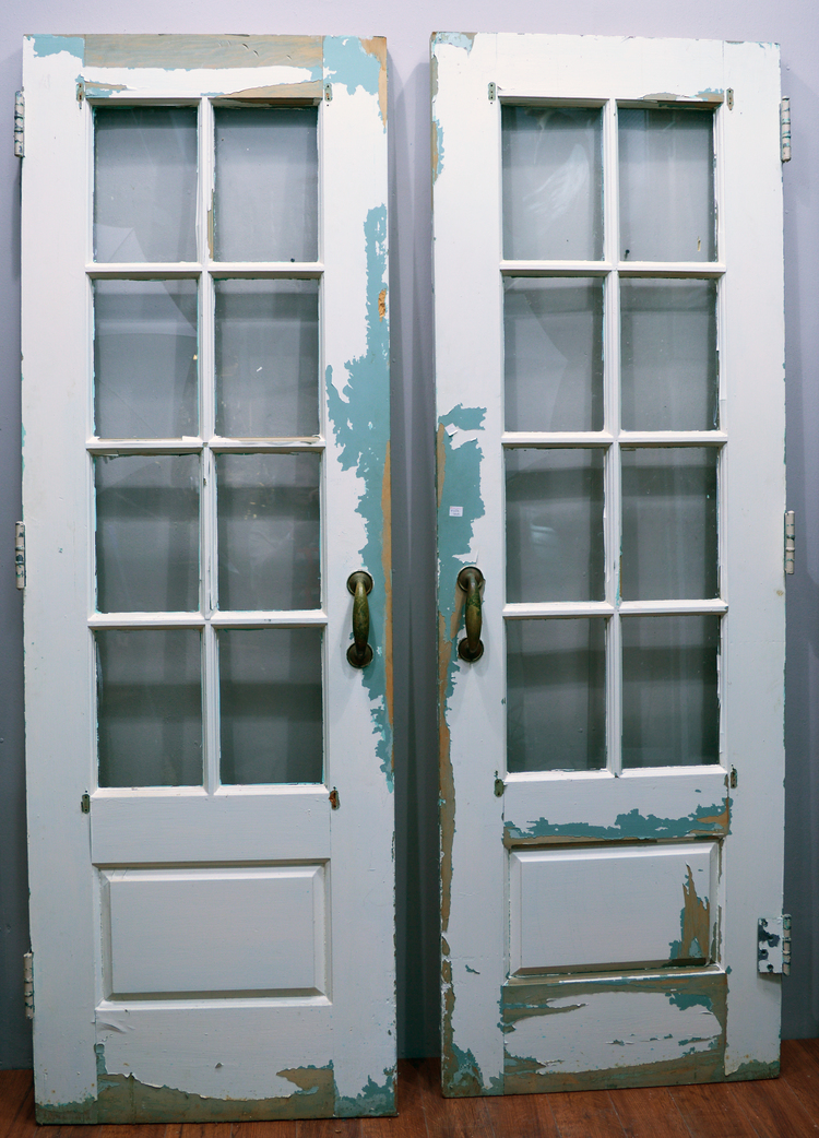 Green French Doors 4.jpg - Doors — Antiques & Architectural Salvage
