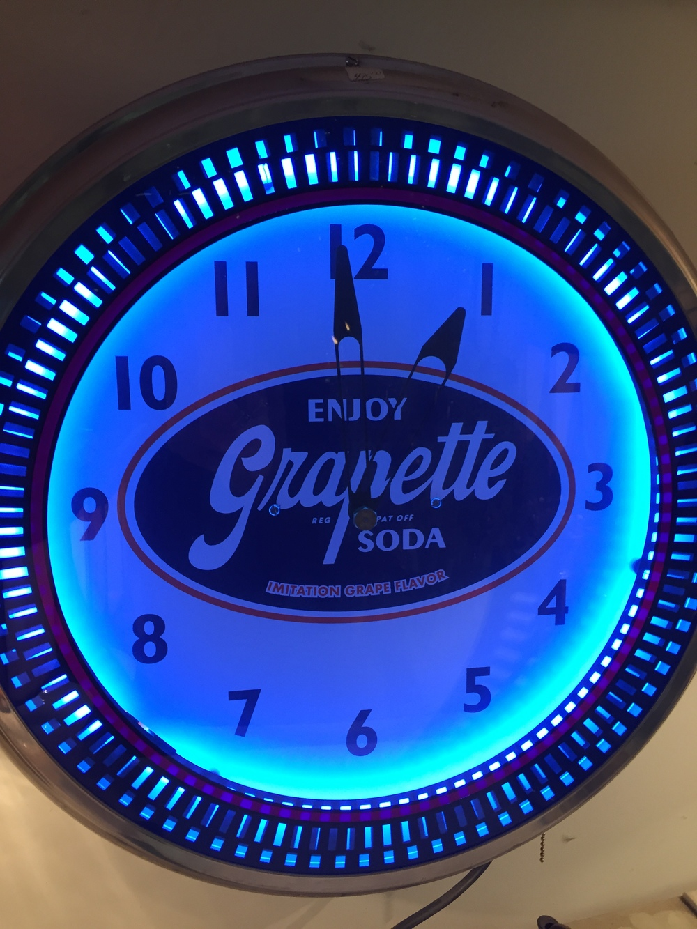 Grapette Soda Clock.JPG