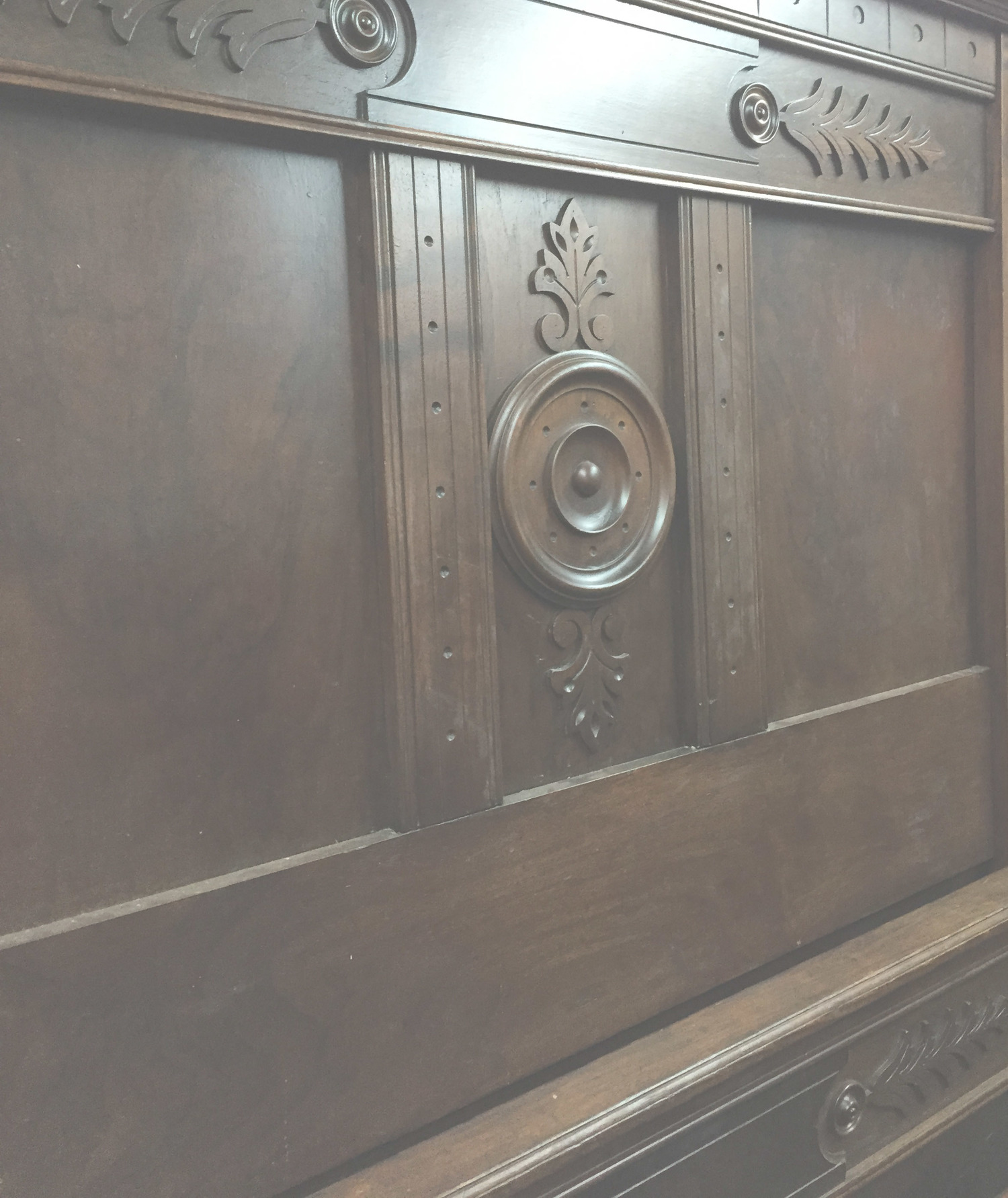 Carved Headboard Washout.jpg. Antiques & Architectural Salvage. Only 5  miles from Richmond, VA - Antique Furniture — Antiques & Architectural Salvage