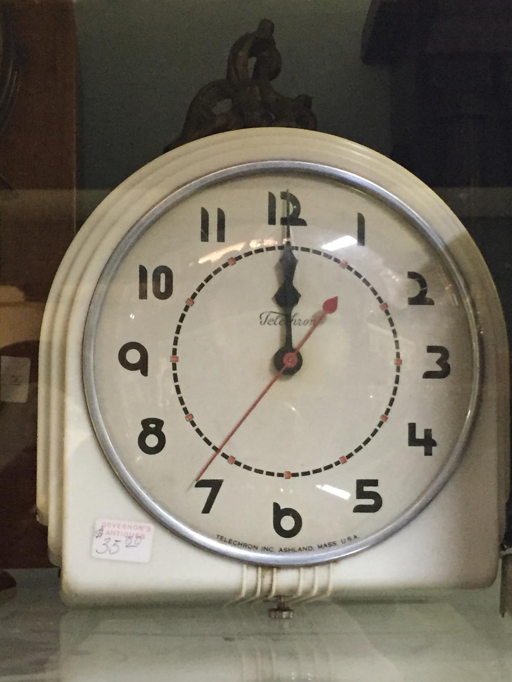 MidCentury Deco Style Clock.JPG