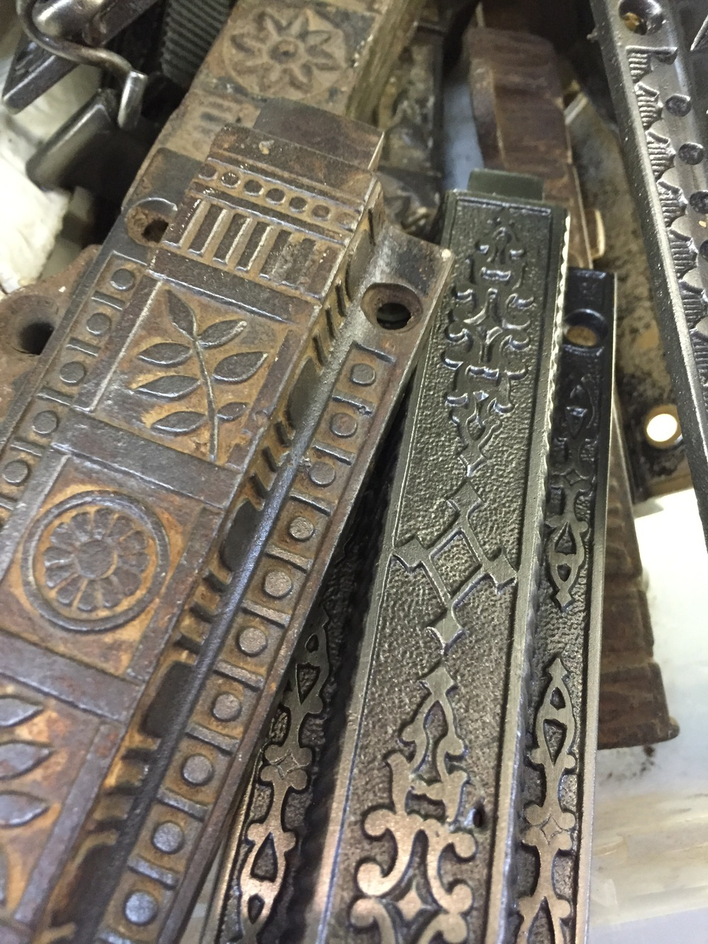 Antique Brass Door Hardware.JPG