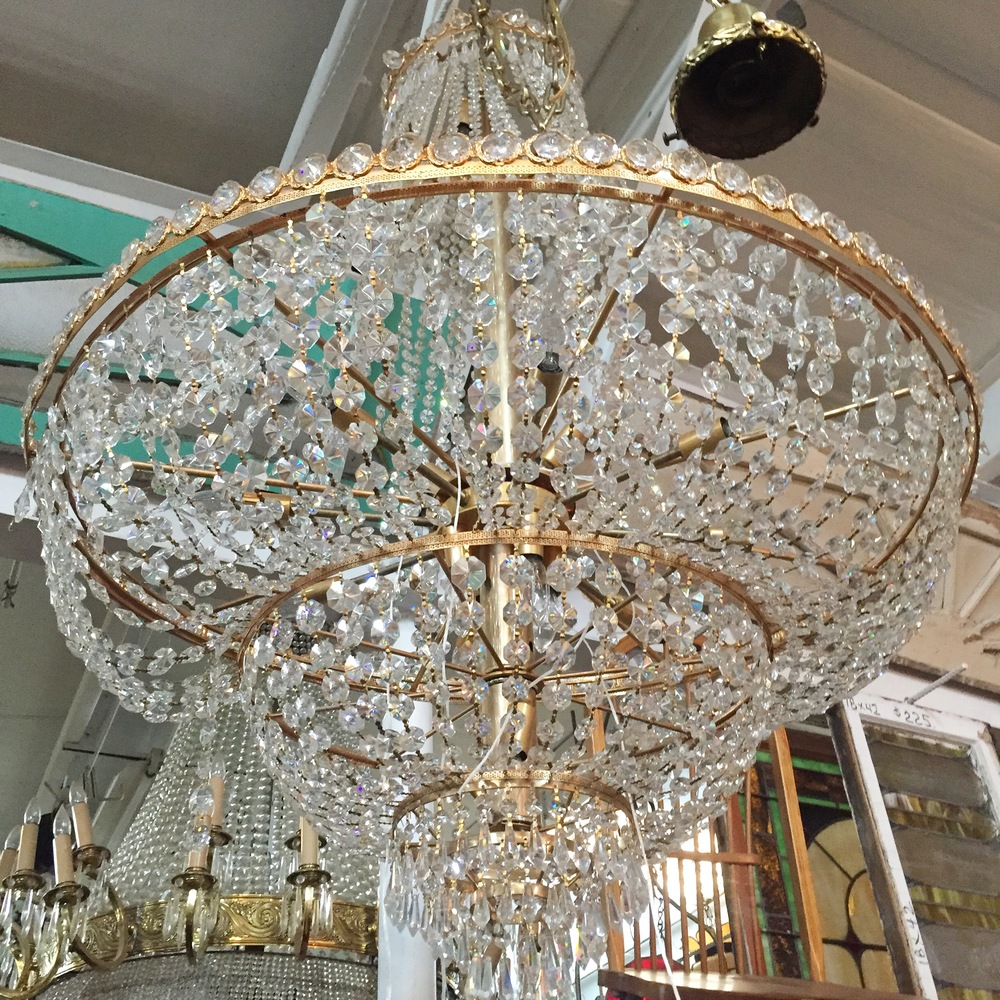 Draped Crystal Chandelier.JPG