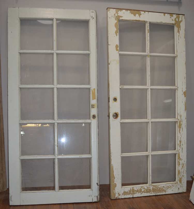 10 Pane French Doors 15.jpg - Doors — Antiques & Architectural Salvage