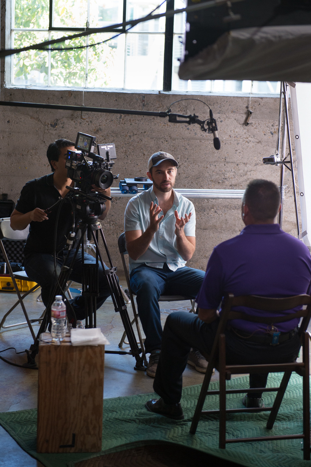 Kyle Hausmann-Stokes, bts, interview, Courage to Me
