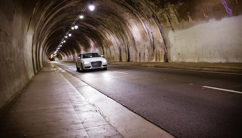 Kyle Hausmann-Stokes, BTS, Audi, tunnel