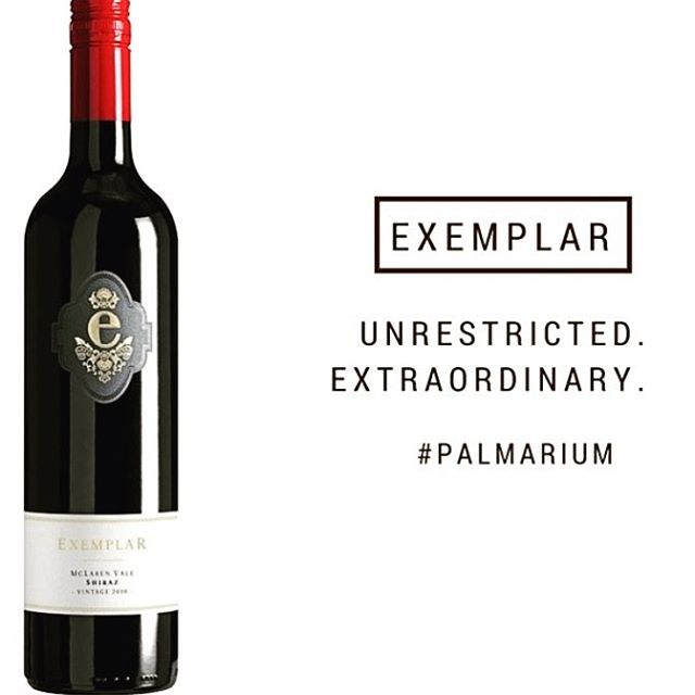 Exemplar - Unrestricted.Extraordinary. We'll drink to that 😉🍷