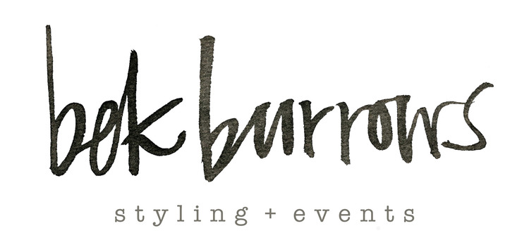 Bek Burrows - Wedding + Event Stylist, Tasmania