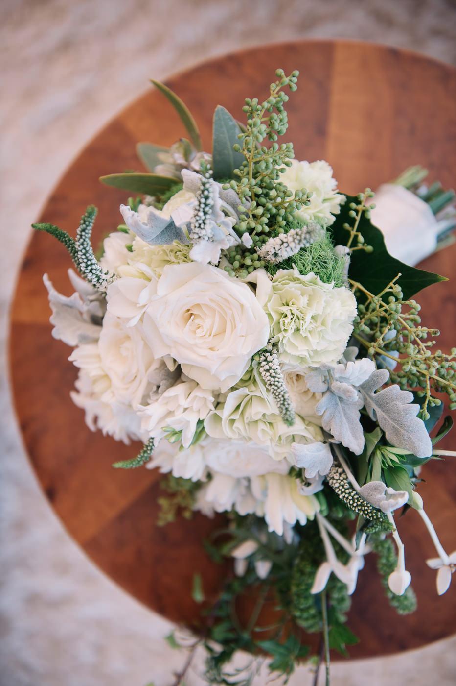 Tasmanian Coastal wedding bouquet