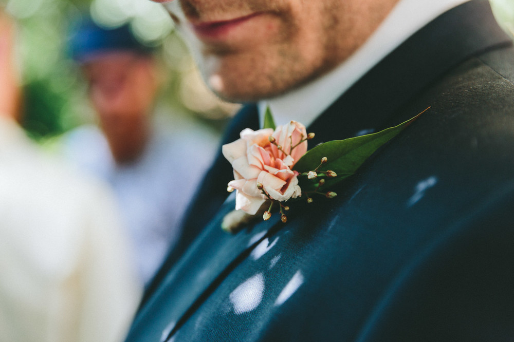 Grooms buttonhole