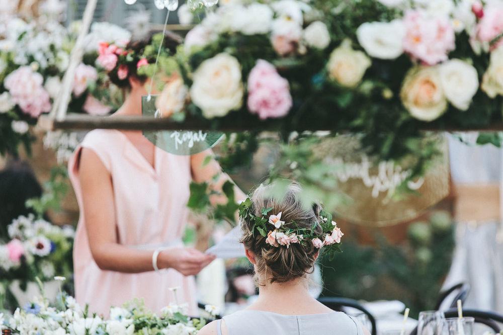 Summer floral for a Tasmanian wedding