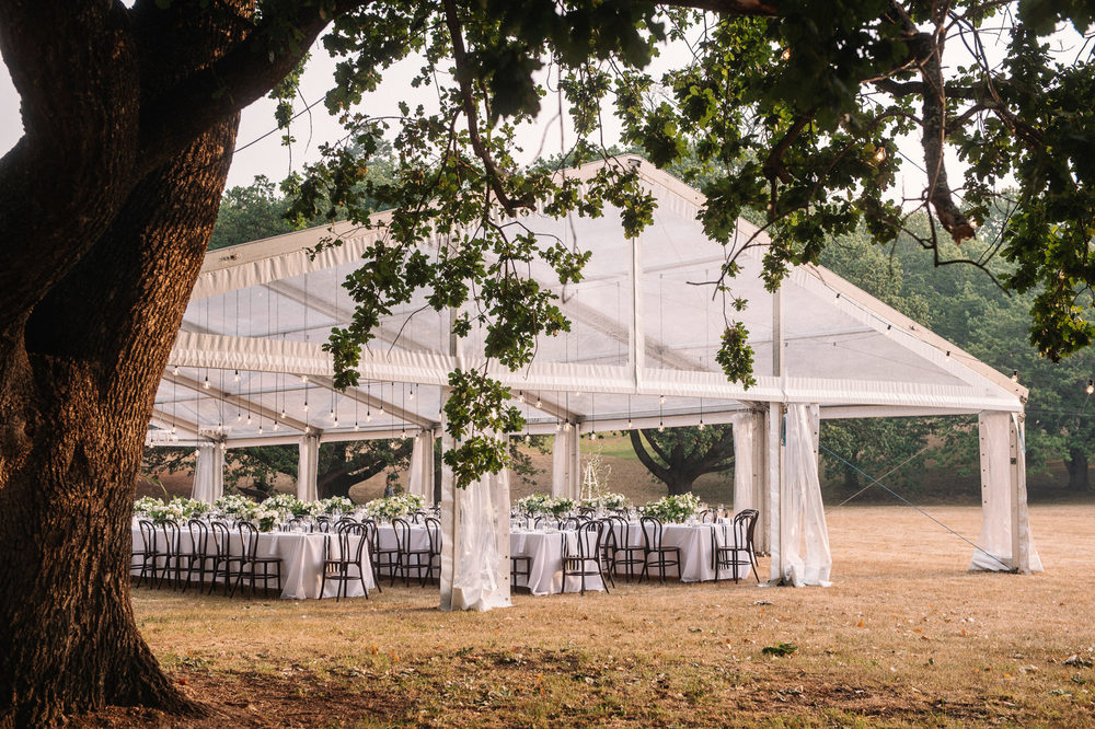 Entally Estate wedding with marquee reception on the oldest cricket pitch in Australia