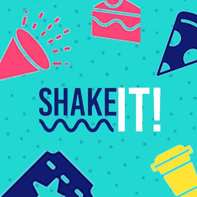Just two weeks remaining to download the @shakeit_app and shake yourself silly...AND go in the draw to win a Nailbreak manicure pamper pack for you and 3 friends. You've got to be in it to win it