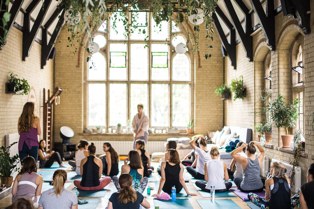 Yoga Brunch Club - x Frankie Unsworth @42 Acres, Shoreditch