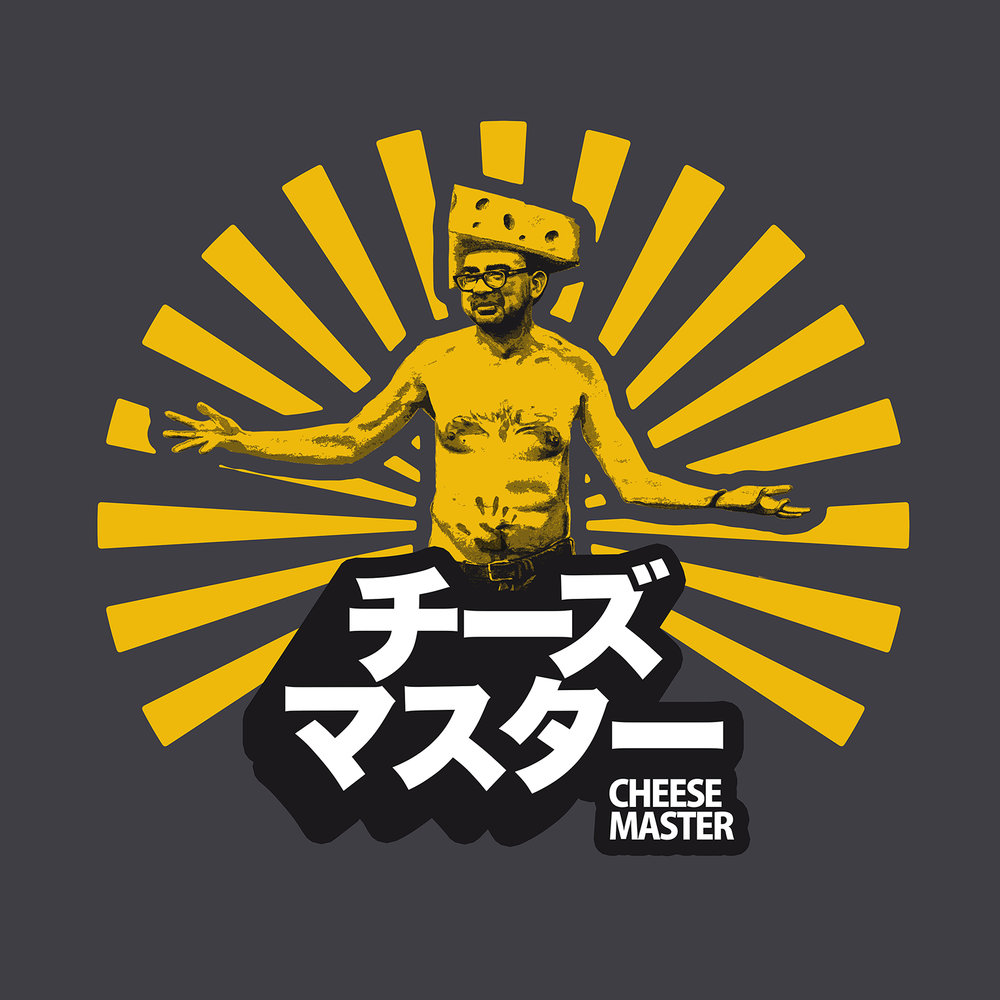 Cheese Master T-Shirt Design for Rooster Teeth