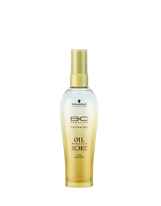 Seen here, the fine to normal version of BC Oil Miracle Oil Mist