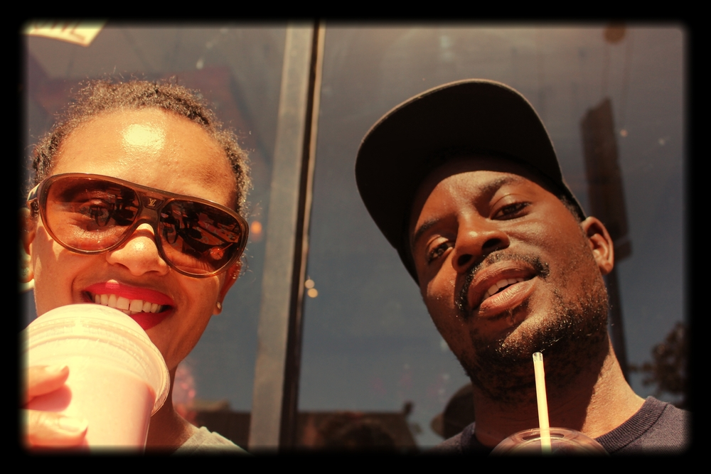 Me and him in LA earlier this year.