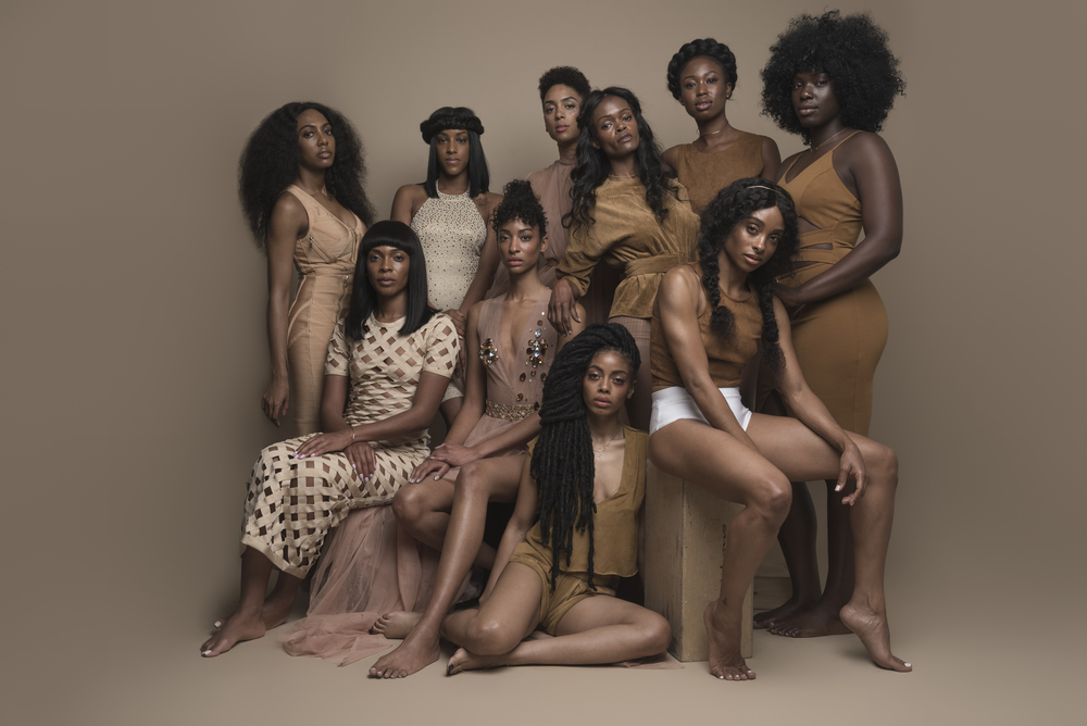 Tori is seen on the far left standing; Victory is seated far right. Find out more about the other women pictured @thecgirlinc Photography: @islandboiphotography