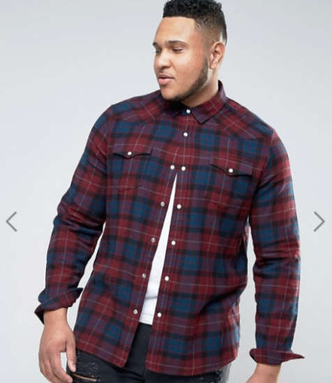 Asos has a plus-sized men's line! It's just hard to find.