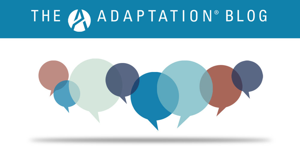 Adaptation updates its blog with fresh perspectives on the New World of Work.  Click on the image to read more.