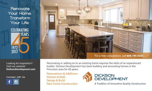 Dickson Development Princeton Magazine ad