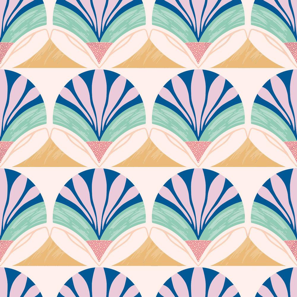 Malt Maternity | Abstract Textile