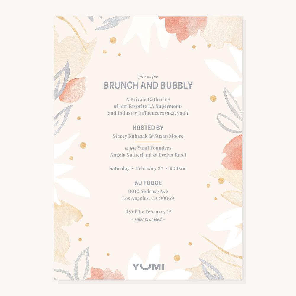 Yumi | Event Invite