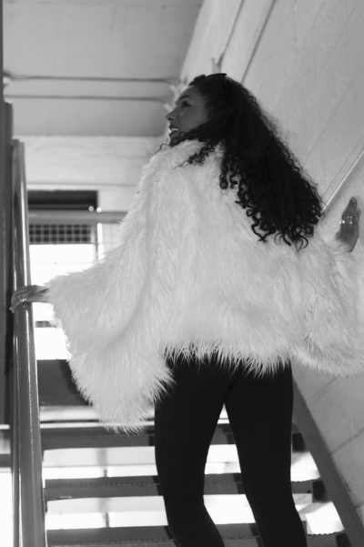 Mongolian Faux Fur Jacket by Knit Sew Fabulous