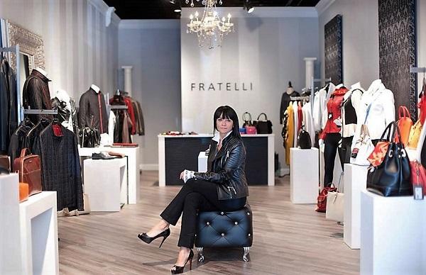 Kasha Kowal, Owner & Designer, Fratelli Leather Luxury Boutique
