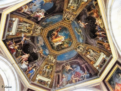 Painted Ceiling - Vatican Museum