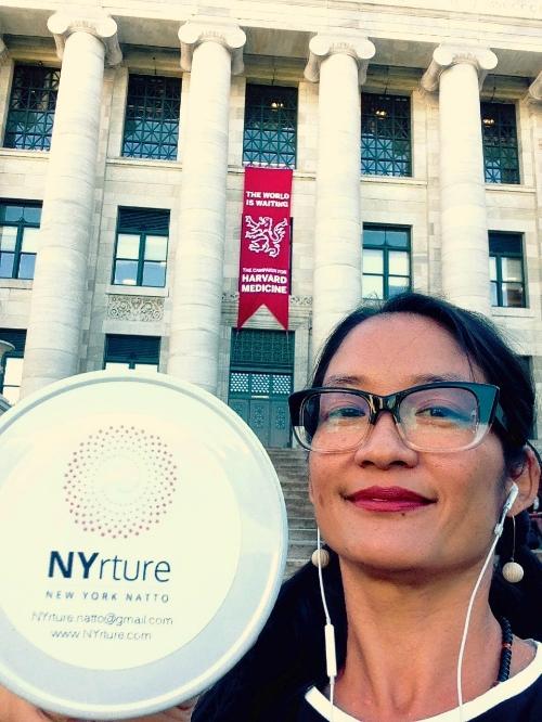 Ann Yonetani of NYrture New York Natto @ HMS