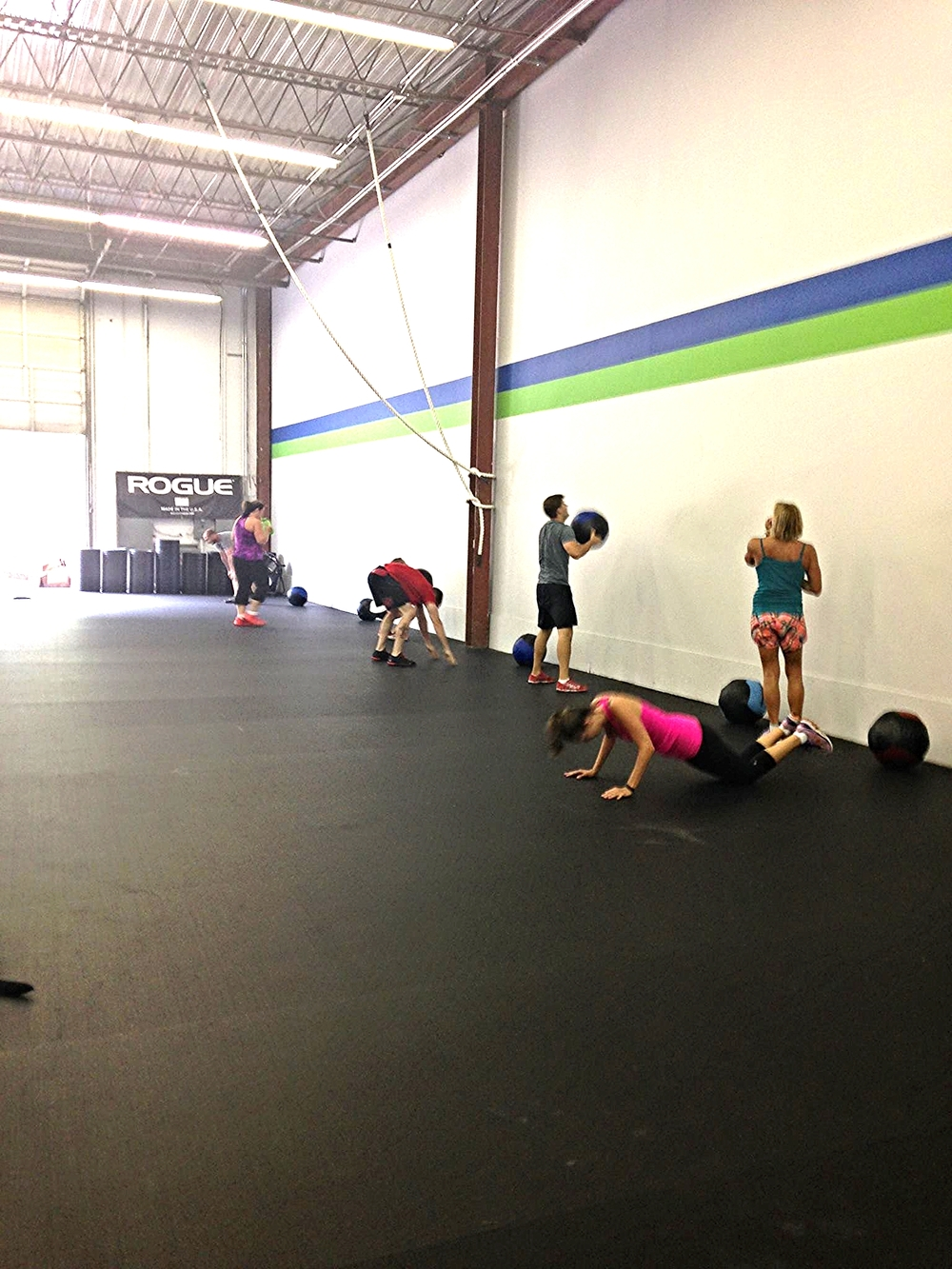 Workout #1 at CrossFit Reanimated